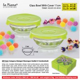 Glass  Bowl  With  Cover  11cm.  48  biji  hanya  RM184.80.
